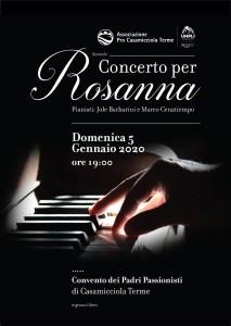 Locandina Concerto Rosanna 5 1 2020
